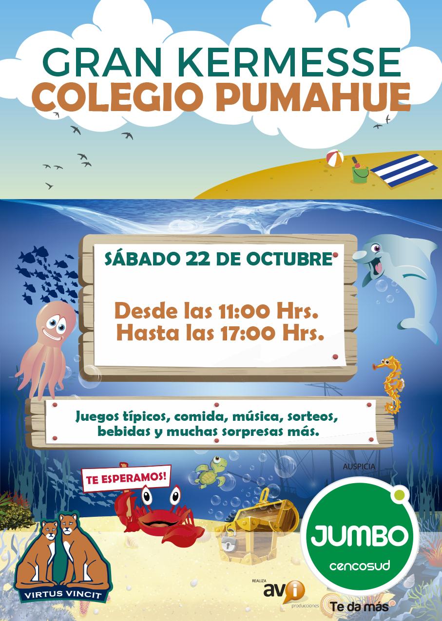 Gran Kermesse Colegio Pumahue Penalolen 2016 Colegio Pumahue Penalolen
